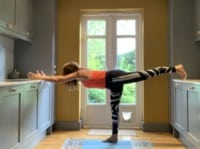 Yoga poses to practice at home